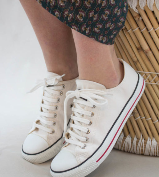 Sneakers Basses Blanches