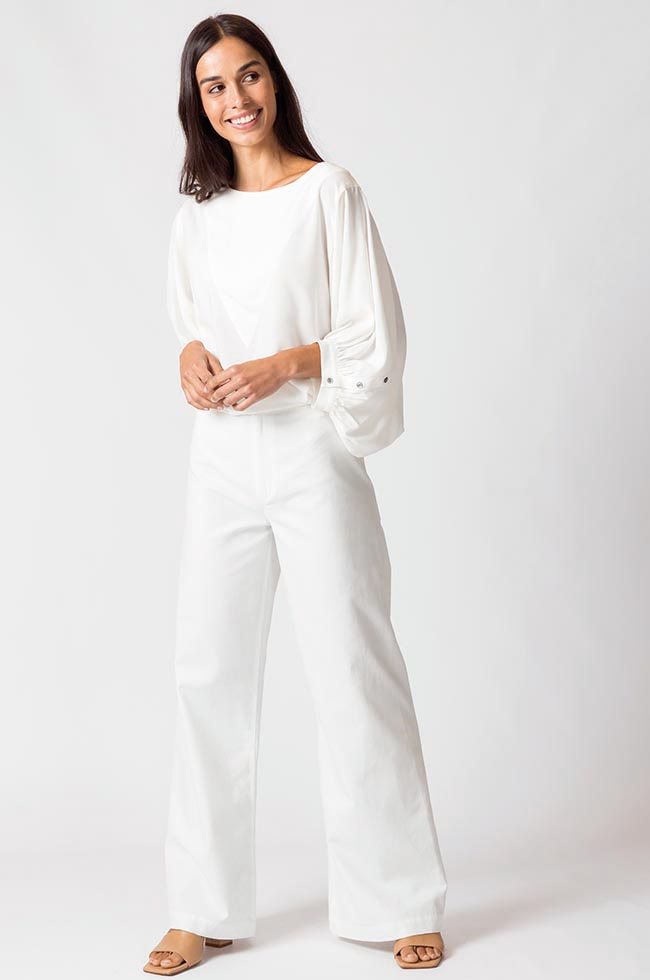 Blouse chic blanche