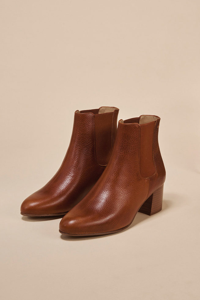 coco-friendly-bottines-cuir-grainé-cognac