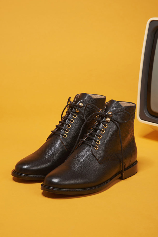 coco-friendly-bottines-cuir-grainé-noir