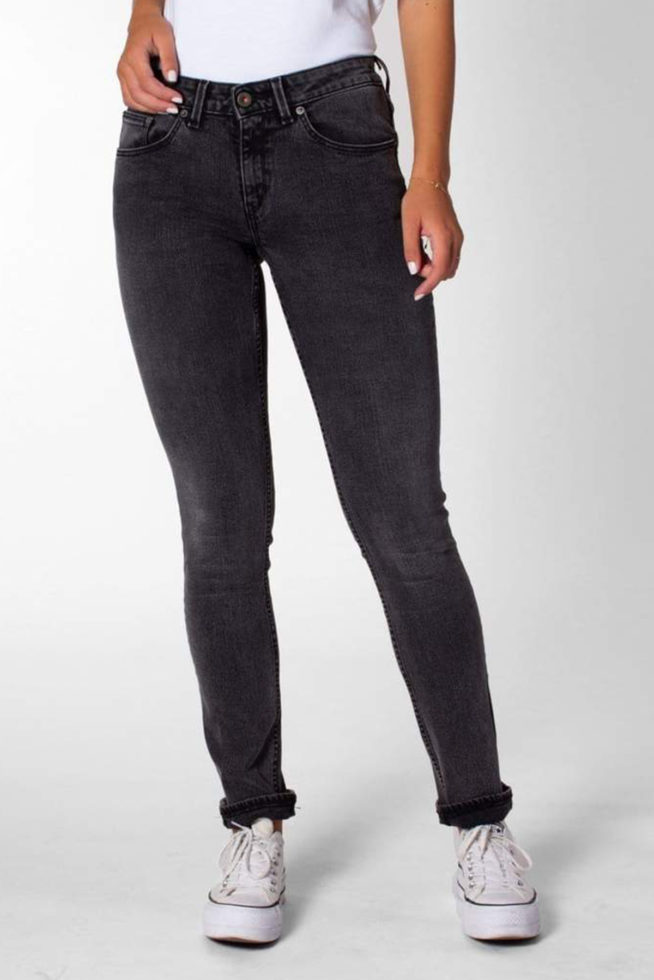 coco friendly jean slim gris foncé