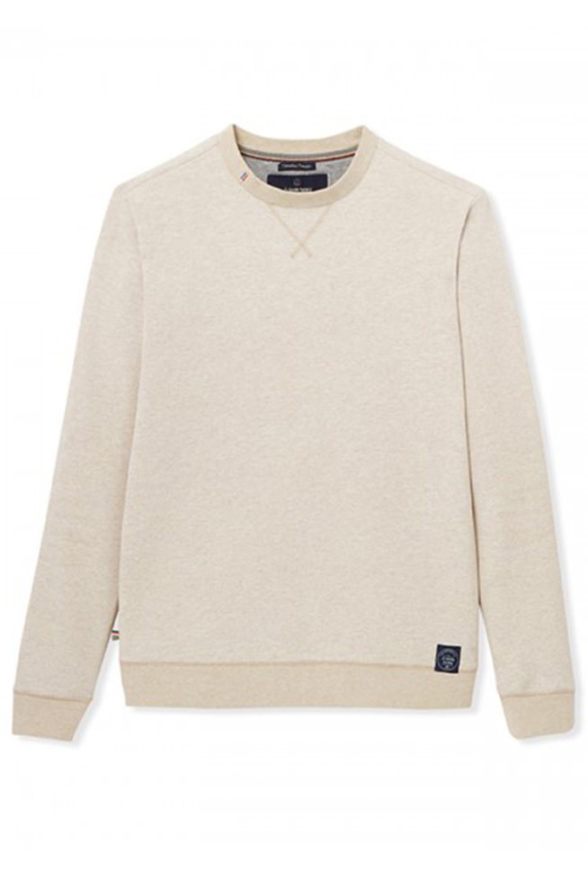 coco friendly pull piqué beige