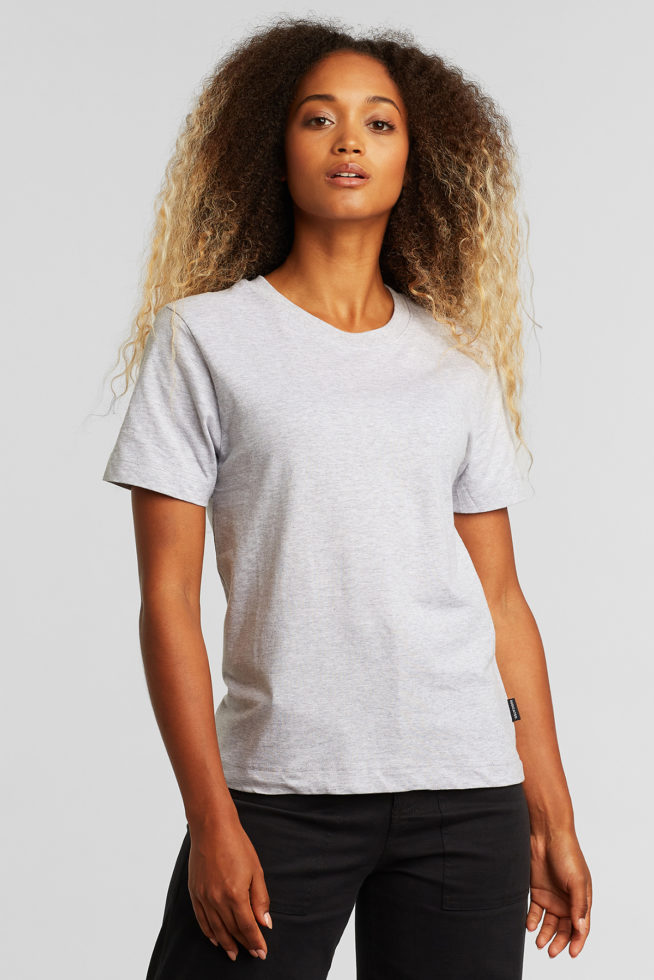 coco friendly tshirt boyfriend gris
