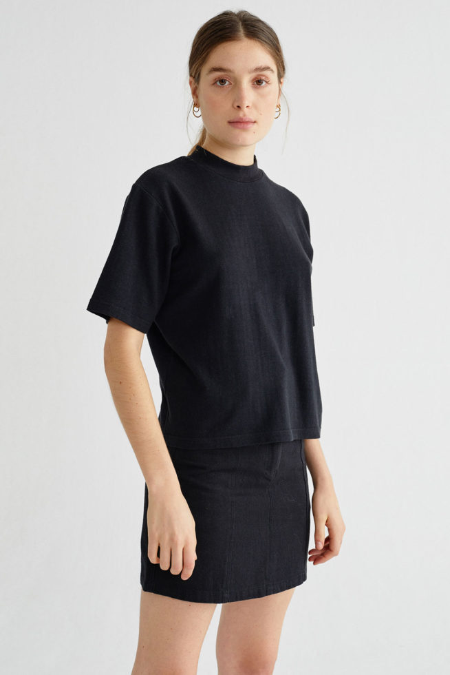 coco friendly tshirt chanvre noir