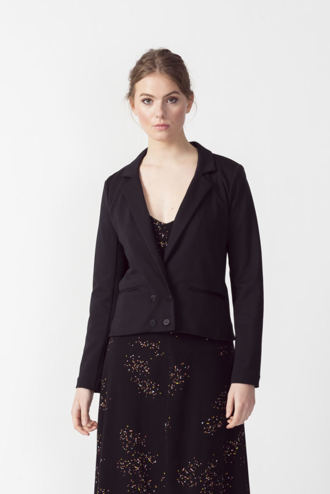coco friendly veste blazer courte